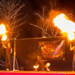 Secret Elements - Feuershow beim Winterfest Wagrain-Kleinarl 2015