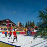 Ball Hoch - Snow Volleyball Wagrain