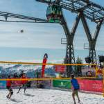 Hoher Ball Flying Mozart Snow Volleyball Wagrain