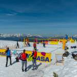 Tolles Panorama - Snow Volleyball Wagrain