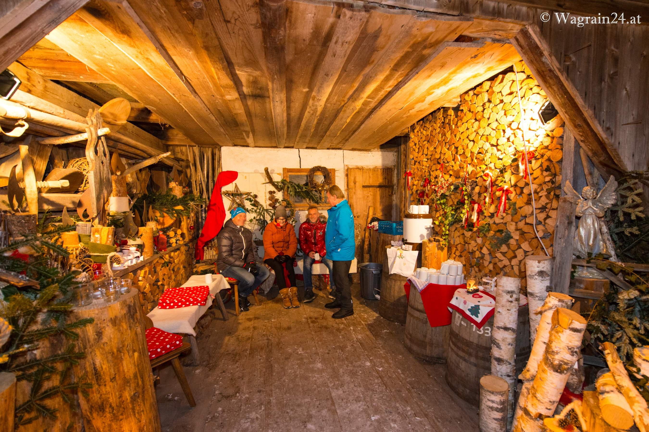Advent In Der Holzhütte Am Unterwimmhof Wagrain Advent Am
