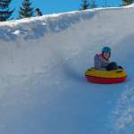 Fun mit Tubing in Wagrainis Winterwelt