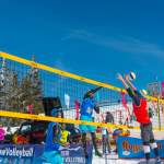Stretching - CEV Snow Volleyball EM 2018 Wagrain