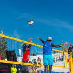 Hoher Ball - CEV Snow Volleyball EM 2018 Wagrain
