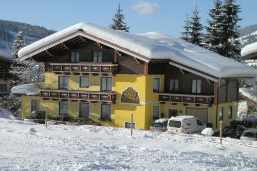 Pension Arnika im Winter