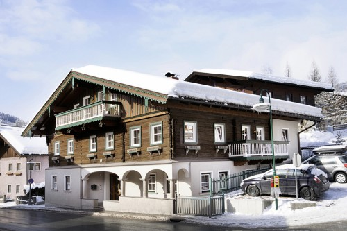 Foto - Appartementhaus im Winter