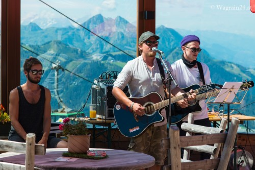 The Dukes Live in der Kogelalm - Wagrain