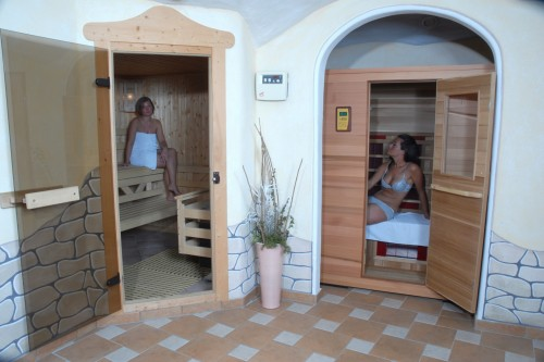 Wellness in der Pension Arnika